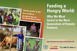 Feeding a Hungry World - postcard 1