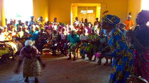 Ghanaian  Women Dancing