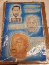 Art of Congressman John Lewis by FM member Ed