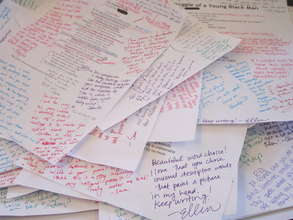 Write Night poems with feedback from supporters