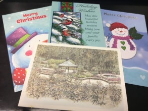Holiday cards from FM members in prison
