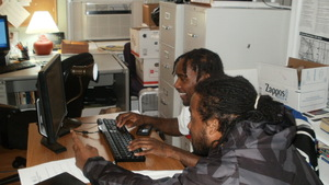 FM members work on BAM! responses at the office