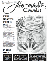 The front page of the Free Minds Connect