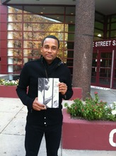 Author Hill Harper visited Book Club at DC Jail