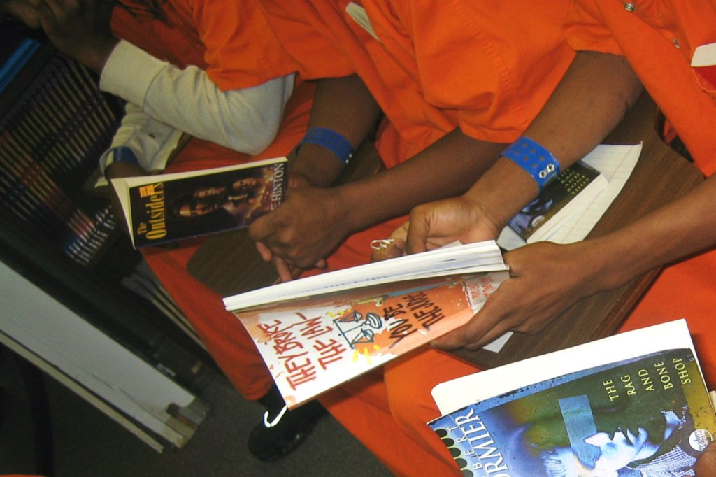 Book Club for Youth in Federal Prison