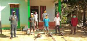 Three former loggers from Pangkalan Jihing