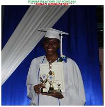 CEF Scholar Sarah graduates from Immaculate High