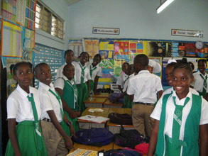 Grade 6 Classroom at Duhaney Park Primary