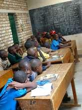 strengthen hand washing to 800 children in Rwanda