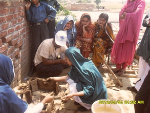 Cooking stove training for women & children Lahore