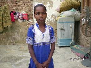 A girl drop from school