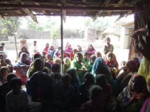 Visit of AHD staff in different villages