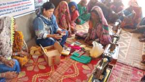 sewing skills for young women