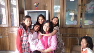 Children with their Mentor Mother