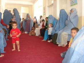AIL Khair Khana Clinic Waiting Room