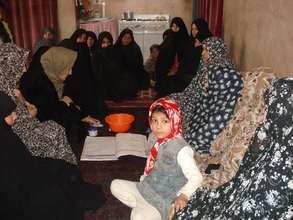 Girls and women loan meeting