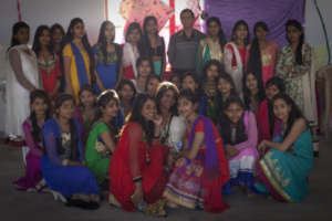 12th A students Farewell party portrait