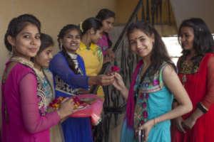 Madhupriya (12th Grade) welcomed to her Farewell