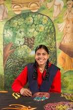 Radha and her magic threads