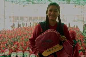 Nandini, celebrating the Girl Child day!