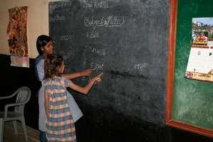 Teaching Basic English at Night School