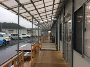Newly Established Temporary Shops
