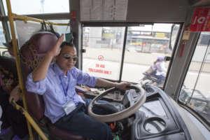 Bus drivers are important participants.
