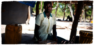 Mary, a 15 year old girl in South Sudan