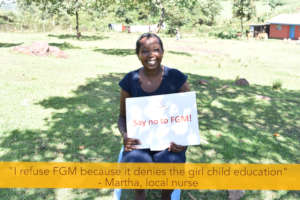 Nurse Martha on Zero Tolerance of FGM Day