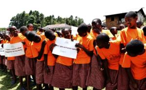 Students celebrate Zero Tolerance of FGM Day 2018