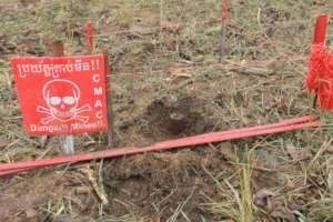 AP Landmines Cambodia remnants of war
