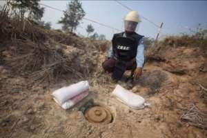 Anti-Tank Landmines in Cambodia