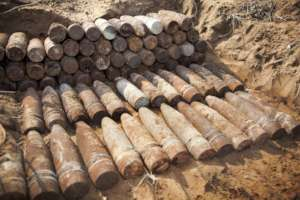 Bombs found in Mozambique