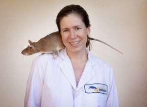 Lena Fiebig,  APOPO Head of TB