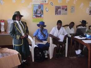 Girls Empowerment Clubs training