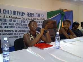 President of Girl Child Network Sierra Leone