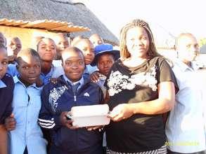 Girls at Chihota Empowerment Village
