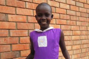 Clare is in Primary 4 at Nyaka Primary School