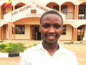Scovia is a Secondary 2 student at NVSS