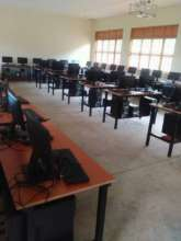 The computer lab your girls will be using at NVSS