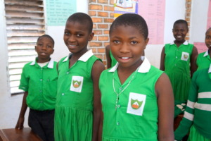 Kutamba Primary School Girls in class