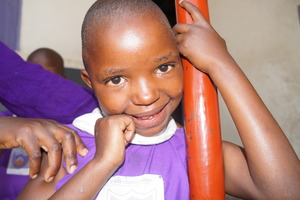 One of The Nyaka Primary Student YOU are Helping