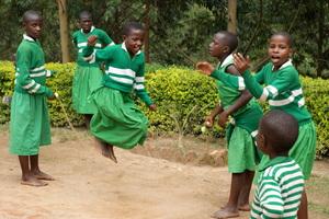 Kutamba Students Jumping Rope