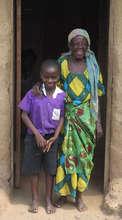 Nzera and her grandchild