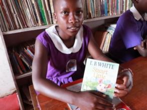 Meet Amelia, a voracious reader!