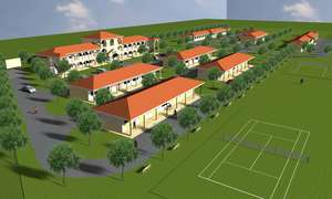 Artistic Rendering of Completed School
