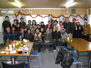 Group shot from Christmas HOT Cafe
