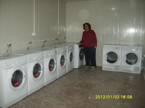 Providing Clean Clothes for residents in Van