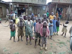 Village kids In Mayuge