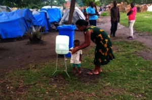 Water stations to keep people safe from infection